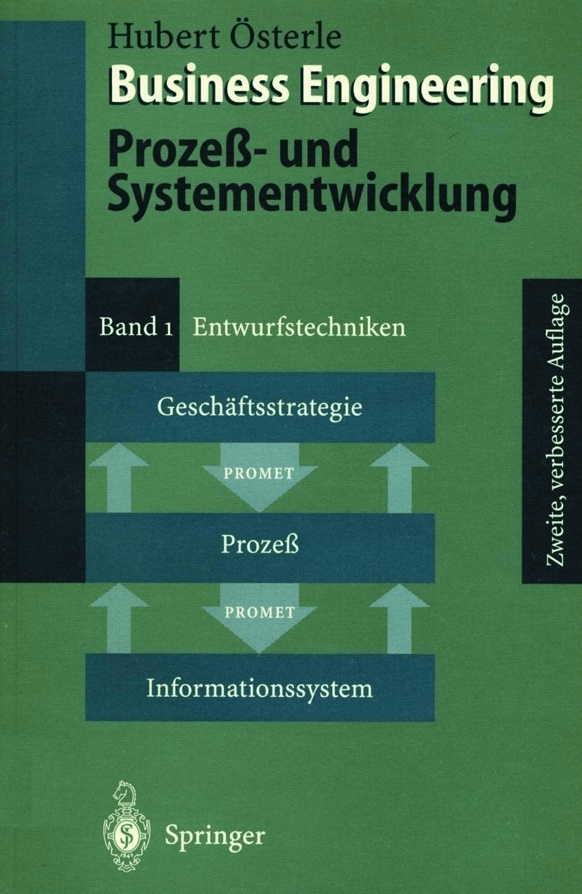 Business Engineering. Prozeß- und Systementwick...