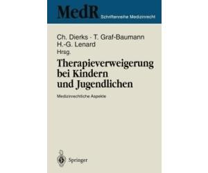 Therapieverweigerung bei Kindern und Jugendlichen