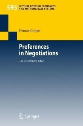 Preferences in Negotiations (Gimpel, Henner)