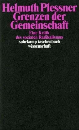 Grenzen der Gemeinschaft (Plessner, Helmuth) [T...
