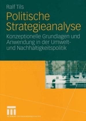 Politische Strategieanalyse (Tils, Ralf)
