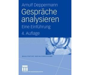 Gespräche analysieren (Deppermann, Arnulf)