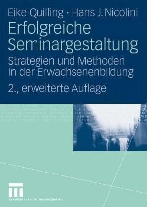 #Erfolgreiche Seminargestaltung (Quilling, Eike Nicolini, Hans J.)#