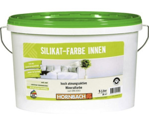 hornbach silikatfarbe innen wei ab 23 95 preisvergleich bei. Black Bedroom Furniture Sets. Home Design Ideas