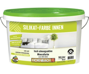 hornbach silikatfarbe innen wei ab 23 95 preisvergleich bei. Black Bedroom Furniture Sets. Home Design Ideas