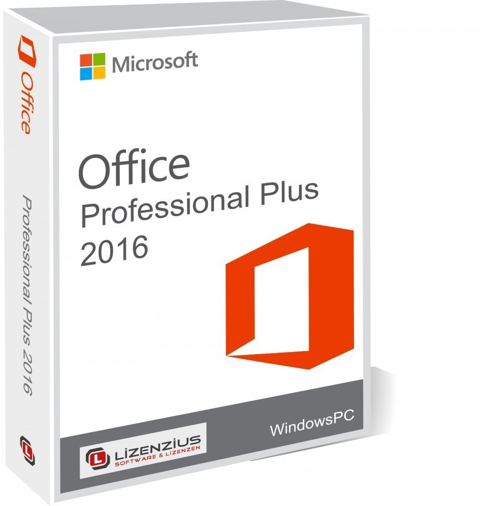 Microsoft Office 2016 Professional Plus ab 22,49