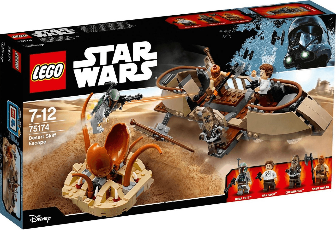 LEGO Star Wars - Desert Skiff Escape (75174)
