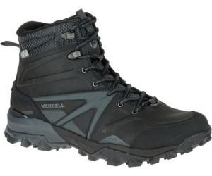 Merrell Damen Capra Glacial Ice+ Mid Waterproof Trekking-& Wanderstiefel, Schwarz (Black), 37 EU
