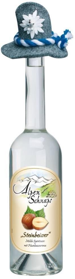 Nannerl Alpenschnaps Steinbeisser Haselnuss 0,5l 33%
