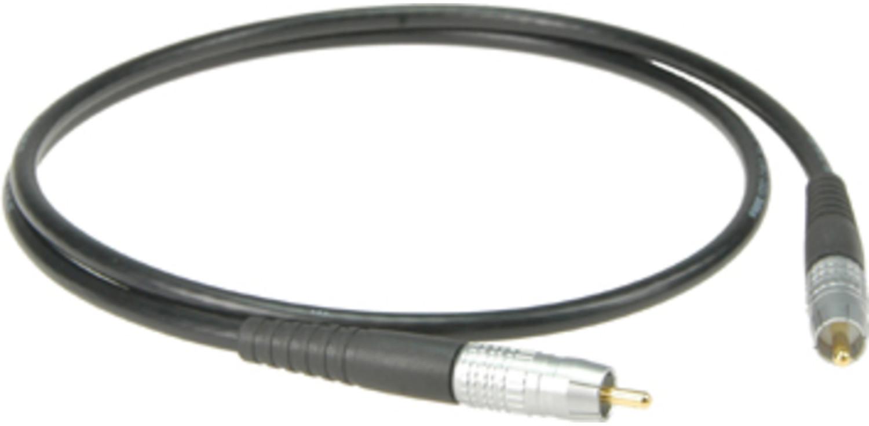 Klotz HighEnd S/PDIF Kabel 3m Cinch, schwarz, SPDIX3.0SW