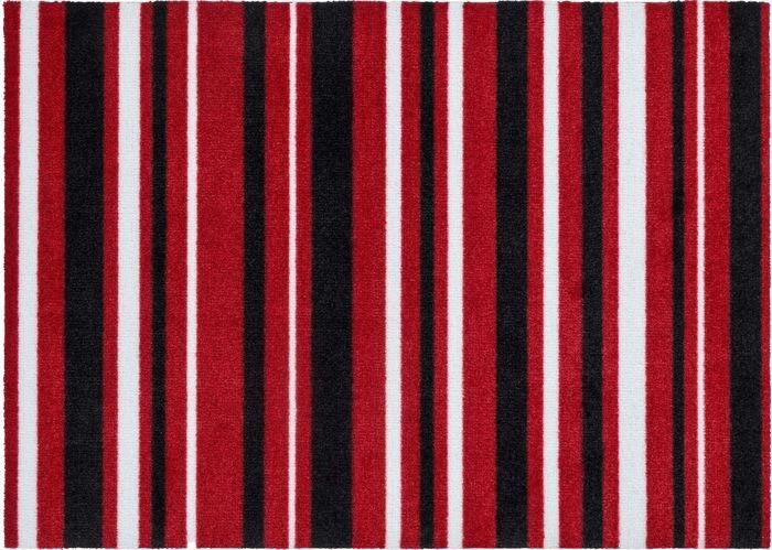 Astra Cardea Olio II 50x70cm rot | Flur & Diele > Fußmatten