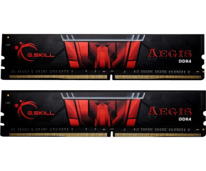 G.SKill AEGIS 16GB Kit DDR4-3000 CL16 (F4-3000C16D-16GISB)