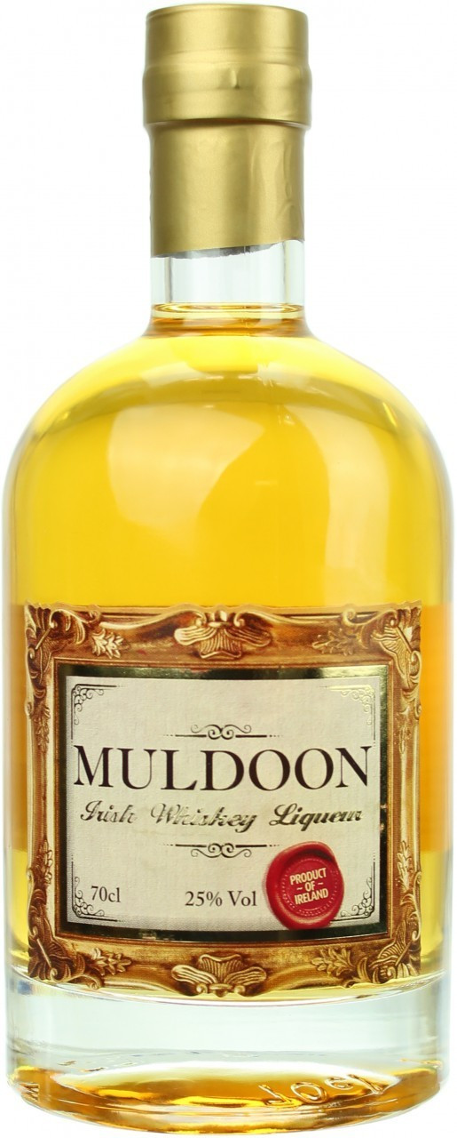 Muldoon Irish Whiskey Likör 0,7l 25%