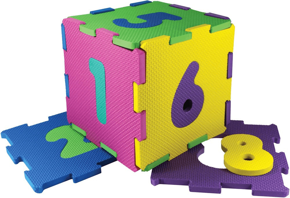 XTrem EVA Puzzlematten Zahlen 0-9