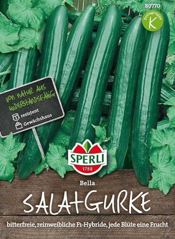 Sperli Salatgurke Bella F1