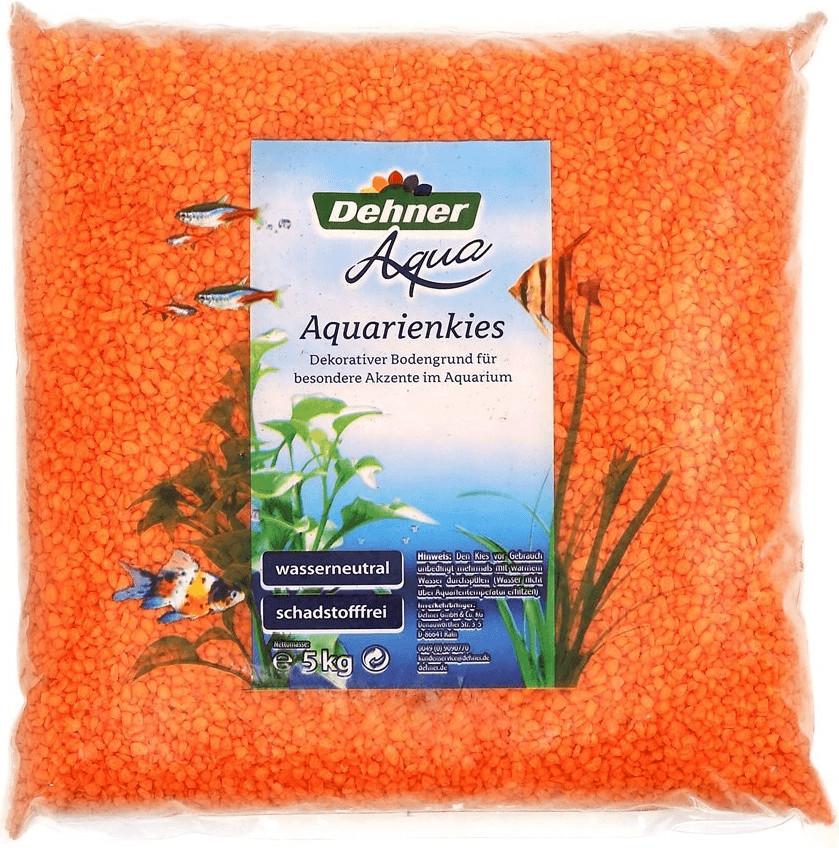 Dehner Aqua Aquarienkies 4-6mm 5kg orange (2739...