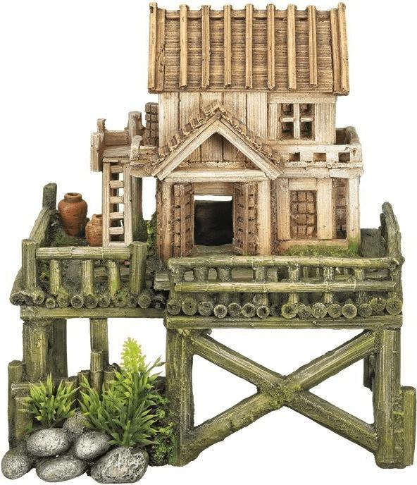 Nobby Aqua Ornaments Haus mit Pflanzen (28542)