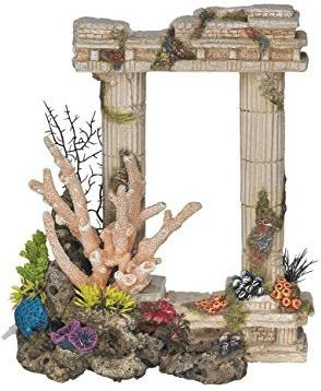 Nobby Aqua Ornaments Säulen mit Korallen mit Pf...