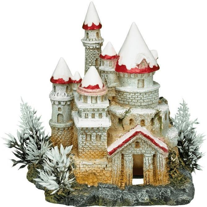 Nobby Aqua Ornaments Schloss mit Pflanzen (28386)