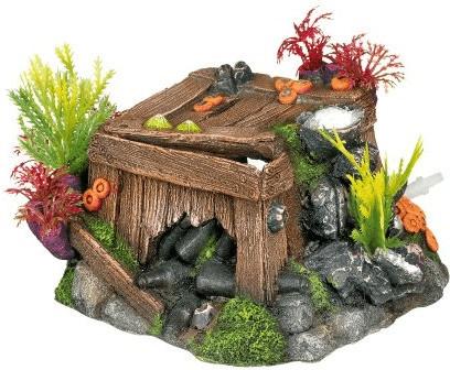 Nobby Aqua Ornaments Kiste mit Korallen mit Pfl...