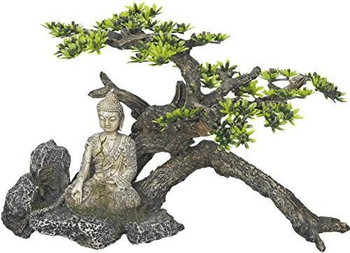 Nobby Aqua Ornaments Buddha mit Pflanzen (28470)