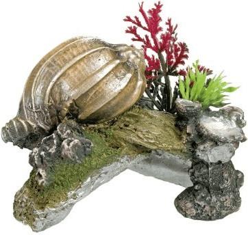 Nobby Aqua Ornaments Muschel mit Pflanzen (28427)