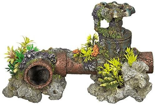 Nobby Aqua Ornaments Wasserleitung mit Pflanzen...