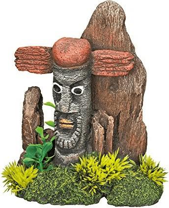 Nobby Aqua Ornaments Zaun Indian mit Pflanzen (...