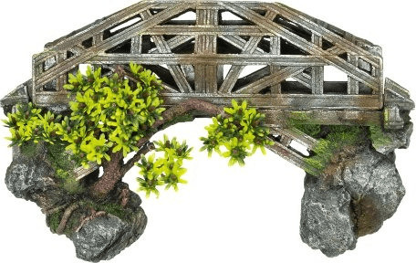 Nobby Aqua Ornaments Brücke mit Pflanzen (28388)