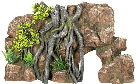 Nobby Aqua Ornaments Fels mit Dschungel mit Pfl...