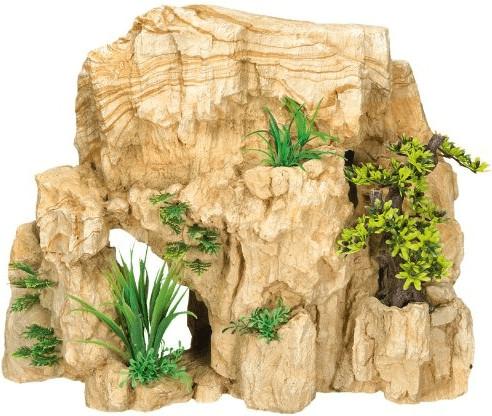 Nobby Aqua Ornaments Fels mit Pflanzen (28414)