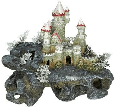 Nobby Aqua Ornaments Schloss mit Pflanzen (28385)