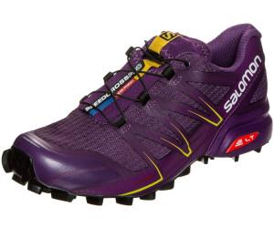 Salomon W Speedcross Pro %SALE 40% Damen Trailrunning- & Laufschuh, Lotus Pink-White-Black, Größe 38 2/3 - Pink