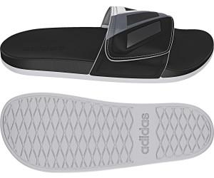 Adidas Adilette Cloudfoam Plus Adjustable core black/iron metallic/footwear white