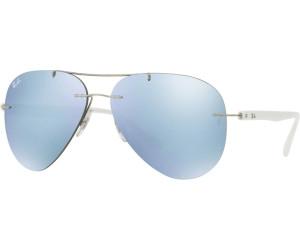 Ray-Ban RB8058 Sonnenbrille Grau 159/B9 59mm ELPk9lg2