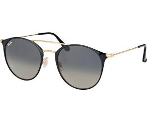 Ray-Ban RB3546 Sonnenbrille Mattschwarz 186 49mm iJanypou