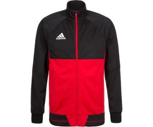 Adidas Tiro 17 Trainingsjacke Herren blackscarletwhite ab