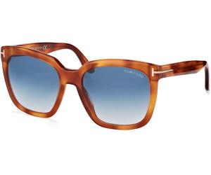 Tom Ford Damen Sonnenbrille »Amarra FT0502«, braun, 52F - braun/braun