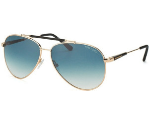 Tom Ford Herren Sonnenbrille »Rick FT0378«, goldfarben, 28J - gold