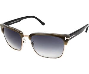 Tom Ford Herren Sonnenbrille »River FT0367«, schwarz, 01D - schwarz/grau