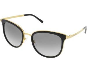 MICHAEL KORS Michael Kors Damen Sonnenbrille »ADRIANNA I MK1010«, goldfarben, 11016P - gold/ rot