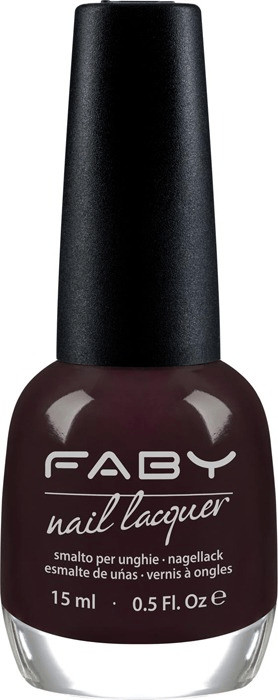 Faby Nail Lacquer - Look At Me Only In The Dark...