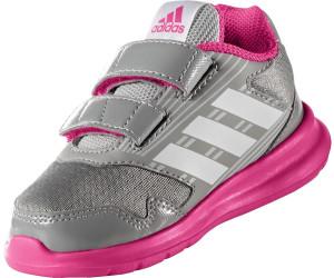 Adidas AltaRun I mid grey/footwear white/shock pink