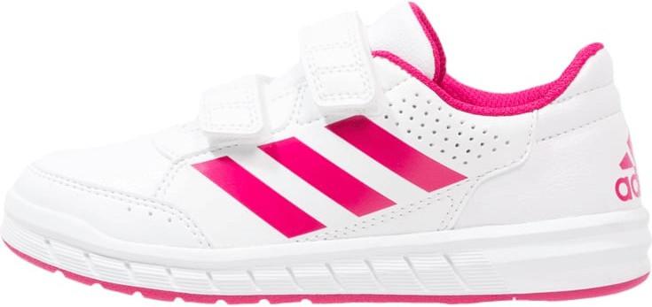 Adidas AltaSport CF K footwear white/bold pink