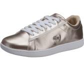 Lacoste Damen WeißLight Rosa Carnaby EVO 217 2 SPW Sneakers