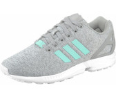 outlet store 6c242 d1fcb Adidas ZX Flux W medium grey heathereasy mintfootwear white