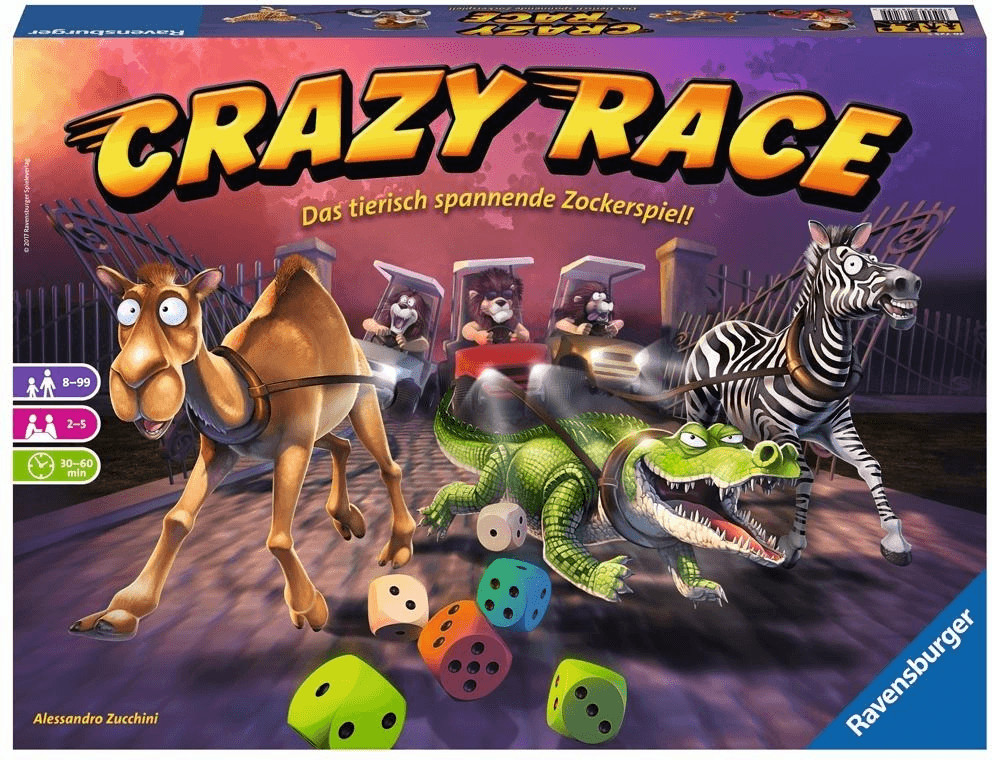 Ravensburger CRAZY RACE (26725)
