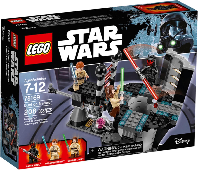 LEGO Star Wars - Duell auf dem Planeten Naboo (75169)