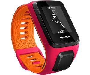 TomTom Runner 3 bracelet fin rose/orange