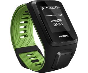 TomTom Runner 3 bracelet fin noir/vert